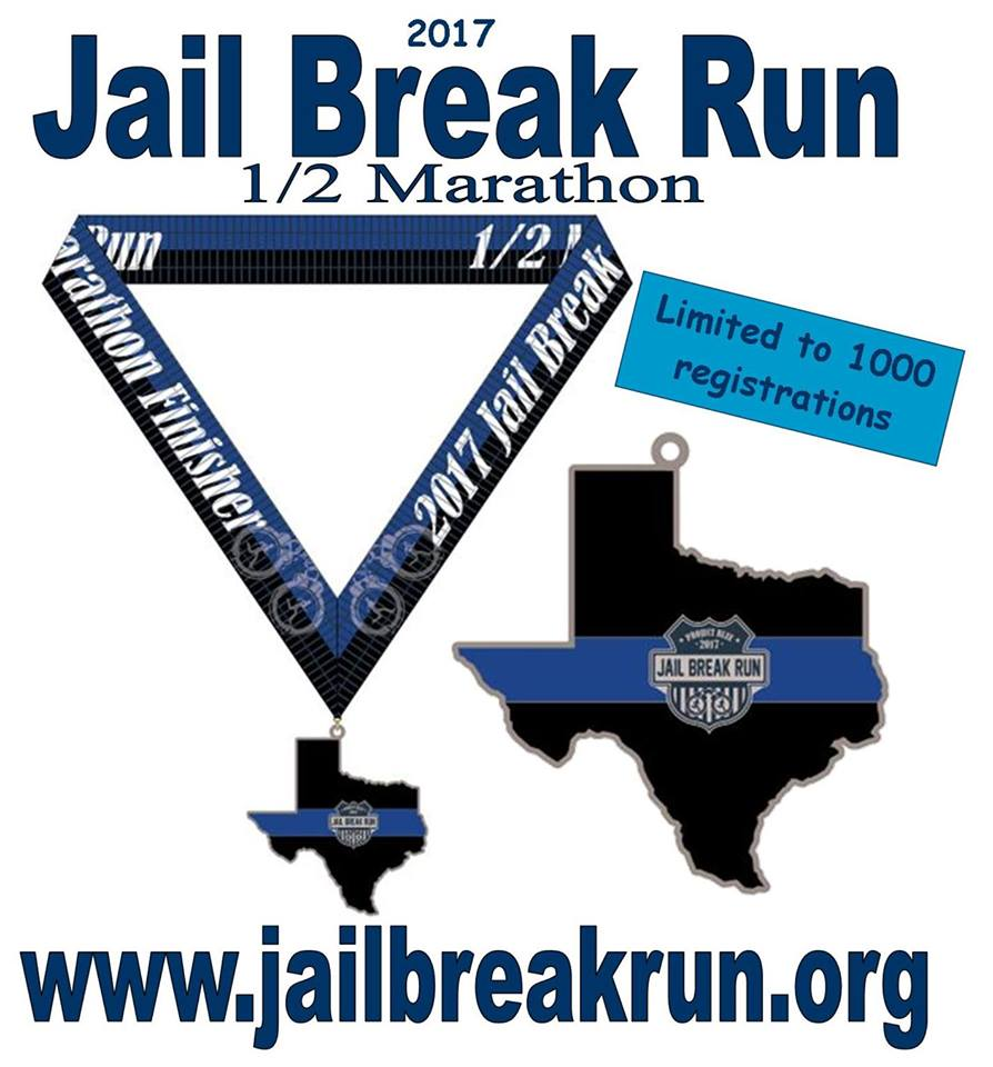 Jail Break Run Medal 2017